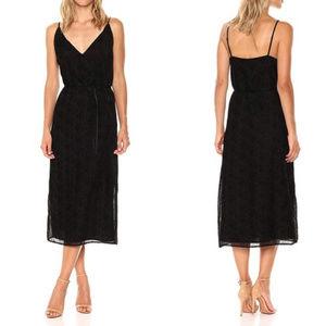 NWT BB Dakota Alayna Burnout Velvet Midi Dress M